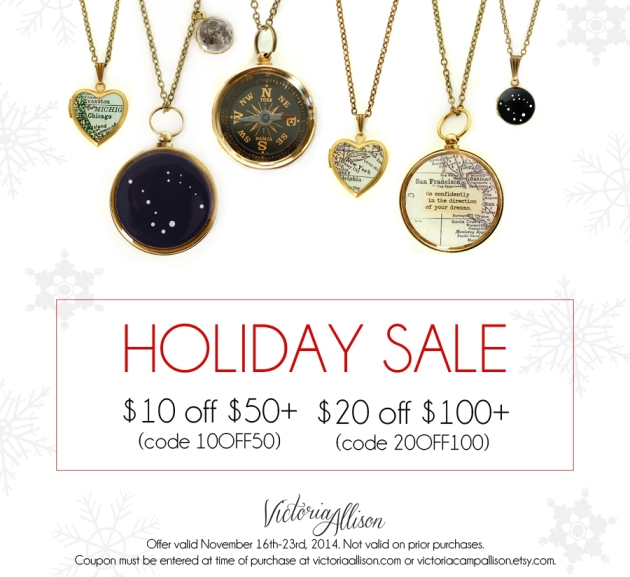 Victoria Allison Jewelry - Holiday Sale 2014